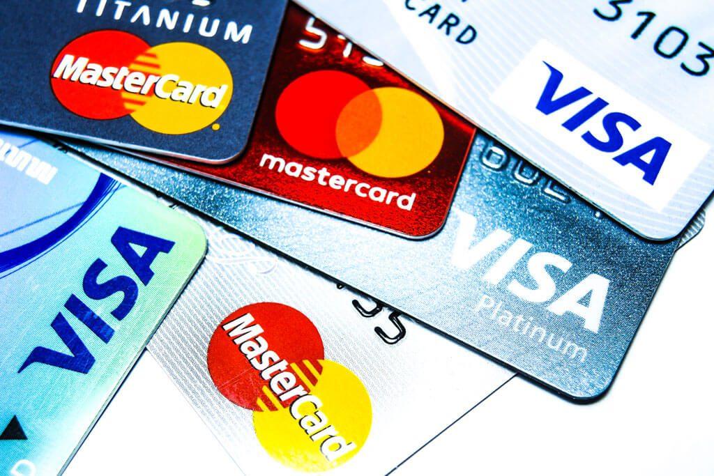 Scattered Credit Cards