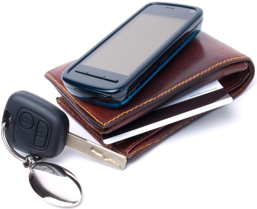 Phone Keys Wallet
